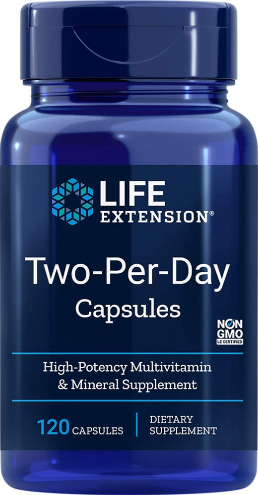 Life Extension - LIFE EXTENSION TWO PER DAY 120  CAPSULES