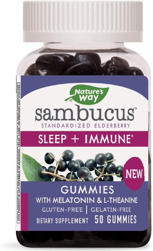 Nature's Way - Sambucus Sleep + Immune Gummy 50 ct