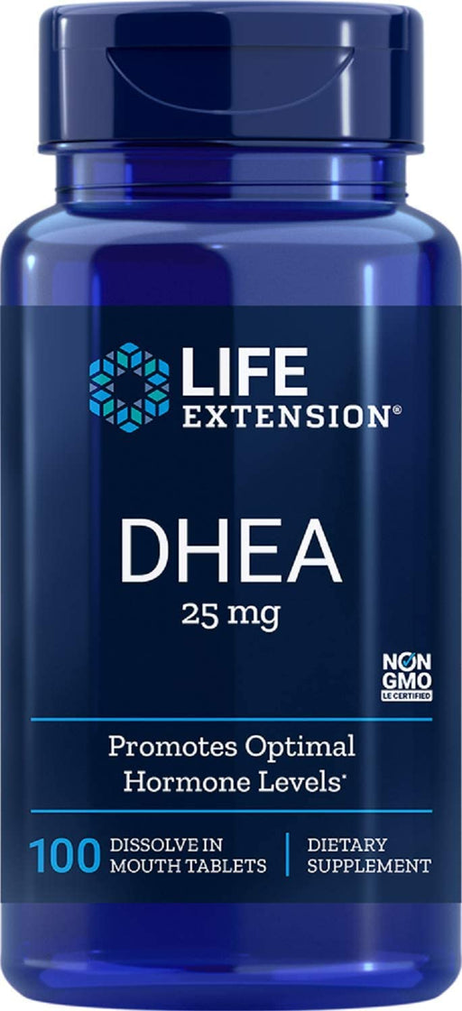 Life Extension - DHEA 25 MG DISSOLVING 100 TABLETS