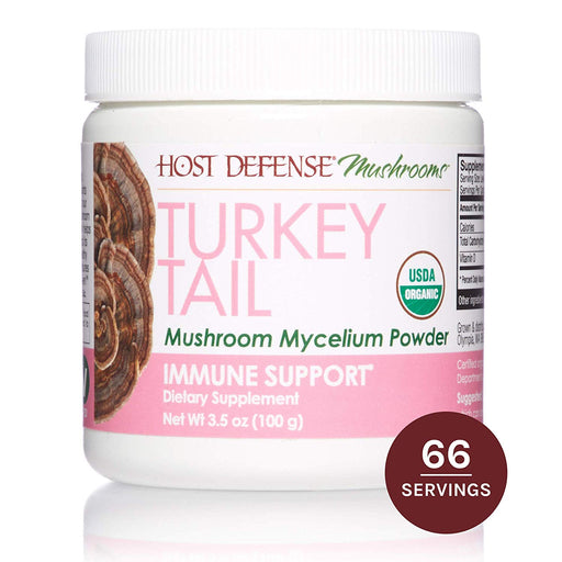 Host Defense -Turkey Tail Mushroom Powder - 100 grams