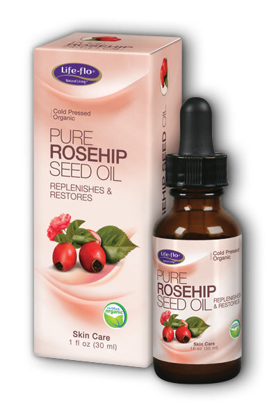LifeFlo- Pure Rosehip Organic, Oil , 1 oz