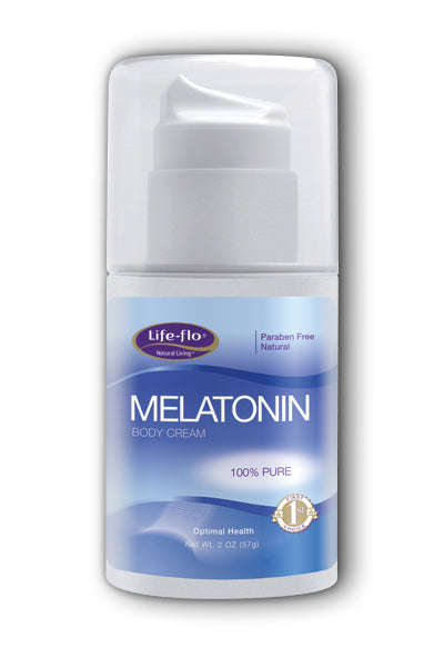 LifeFlo- Melatonin, Cream, Fragrance Fre, 2 oz