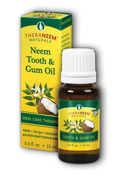 Organix South  -Neem Tooth & Gum Oil 0.5oz