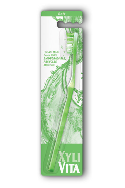 Organix South  -Key Lime Green Soft Toothbrush 1ea