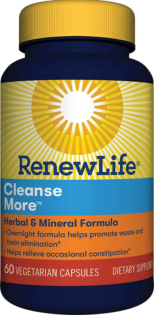 Renew Life - Cleanse More 60ct