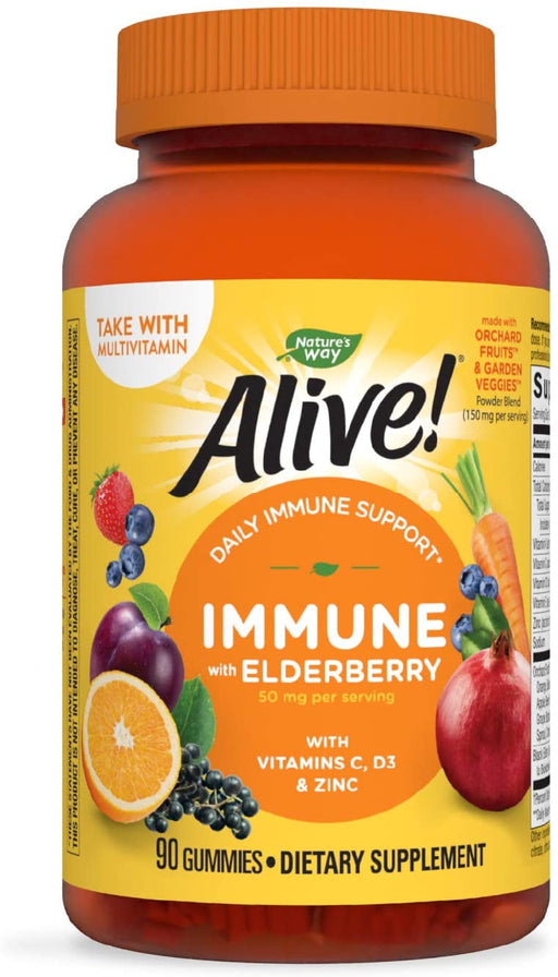 Nature's Way - Alive!® Immune Gummy 90 ct (HFS)