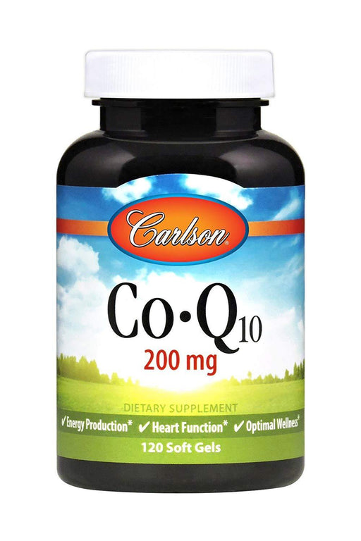 Carlson - Coq10 200mg 120 softgels