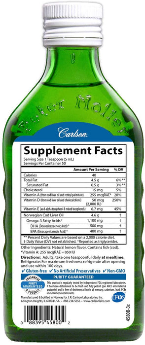 Carlson-Nutra-Support® 50+, 250 ml