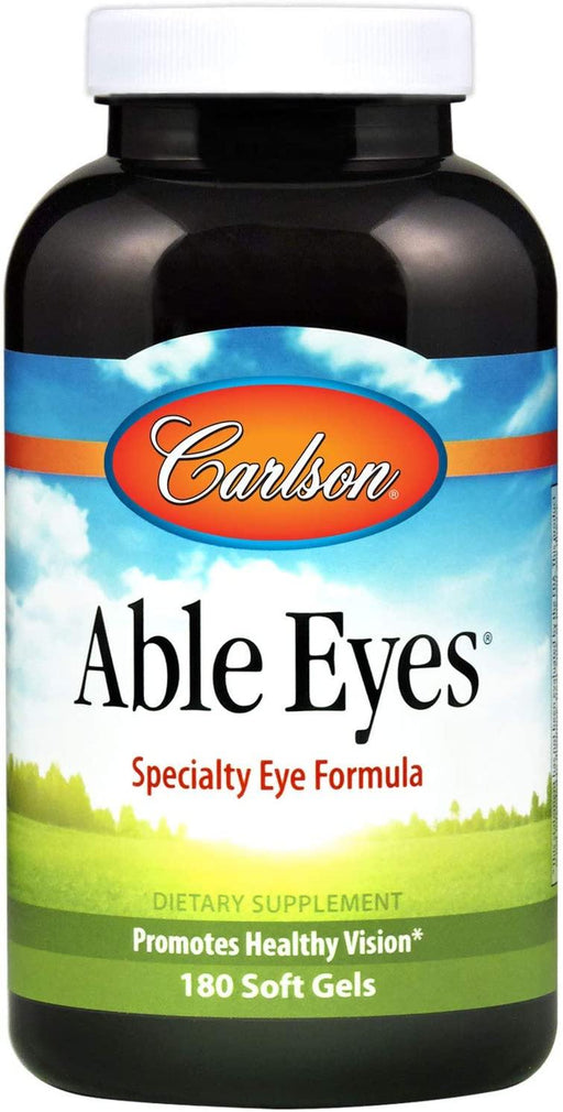 Carlson-Able Eyes 180 Soft Gels - Highland Health Foods