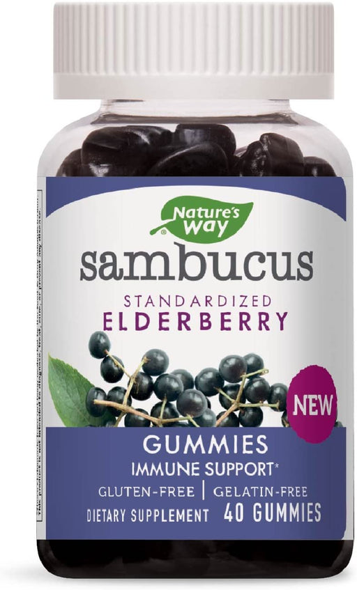 Nature's Way - Sambucus Gummy 40 ct