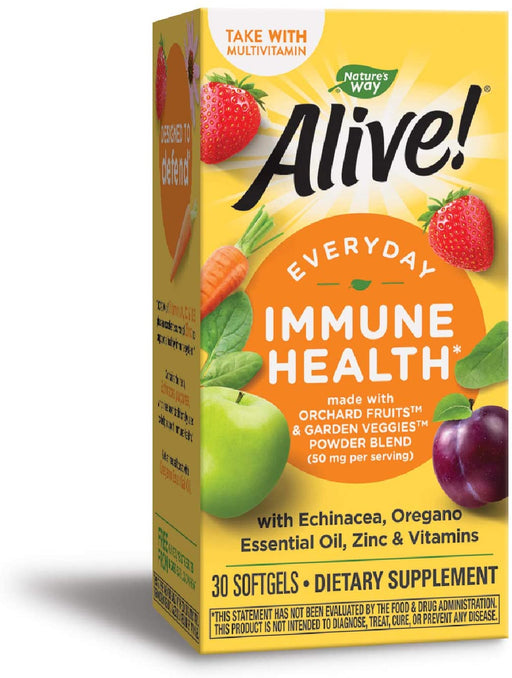 Nature's Way - Alive! Immune Health 30 sg