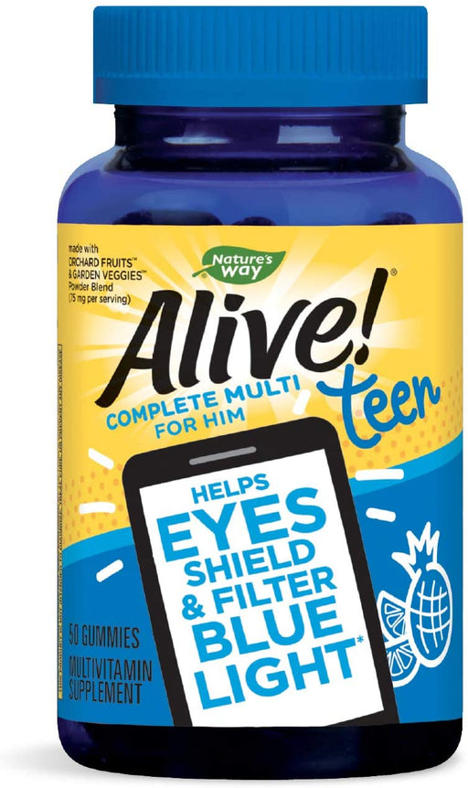 Nature's Way - Alive! Teen Male Multi Gummy 50ct