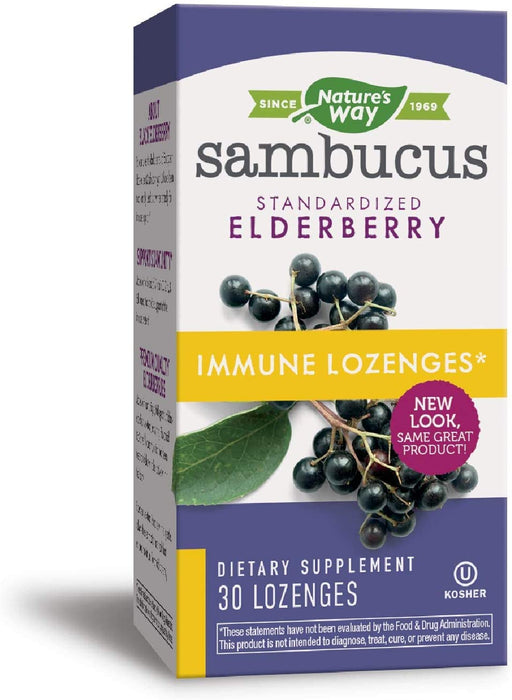 Nature's Way - Sambucus Immune 30 Lozenge