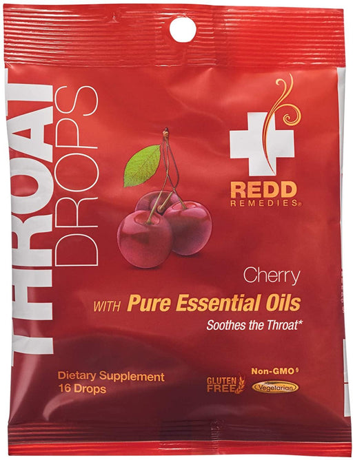 Redd Remedies - Cherry Throat Drops - Highland Health Foods