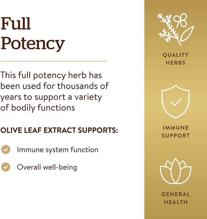 Solgar- SFP Olive Leaf Extract Vegetable Capsules- 180