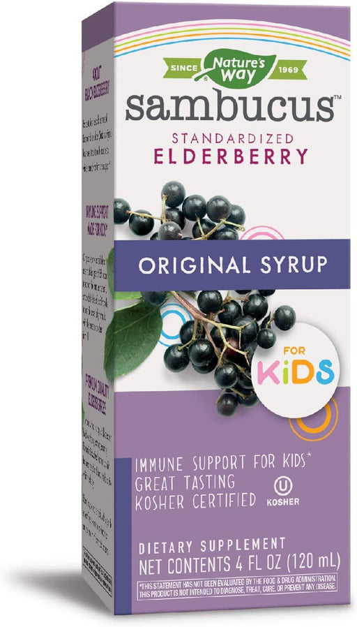 Nature's Way - Sambucus Original Syrup for Kids 4 oz