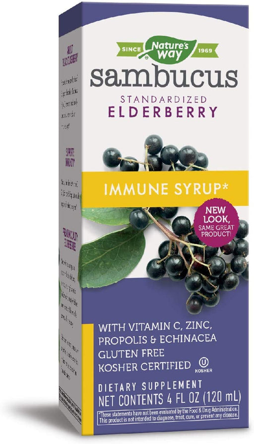 Nature's Way - Sambucus Immune Syrup 4 oz