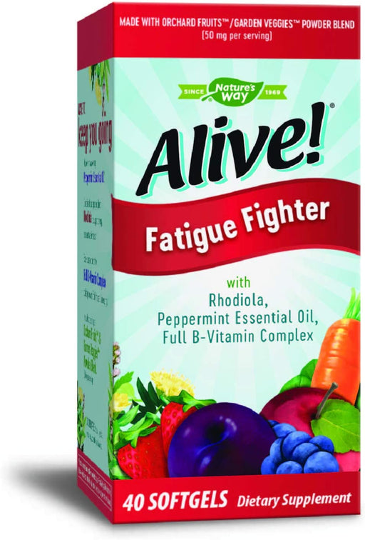 Nature's Way - Alive! Fatigue Fighter 40 sg