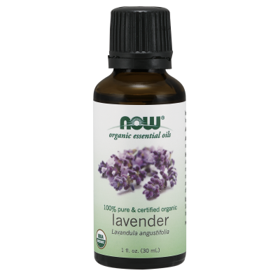 NOW FOODS - ORGANIC LAVENDER OIL   1 OZ