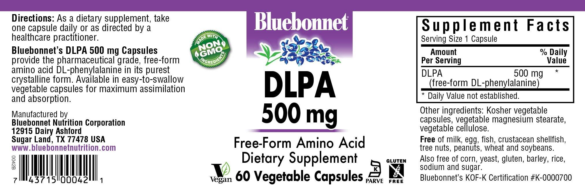 Blue Bonnet- DLPA 500 mg60