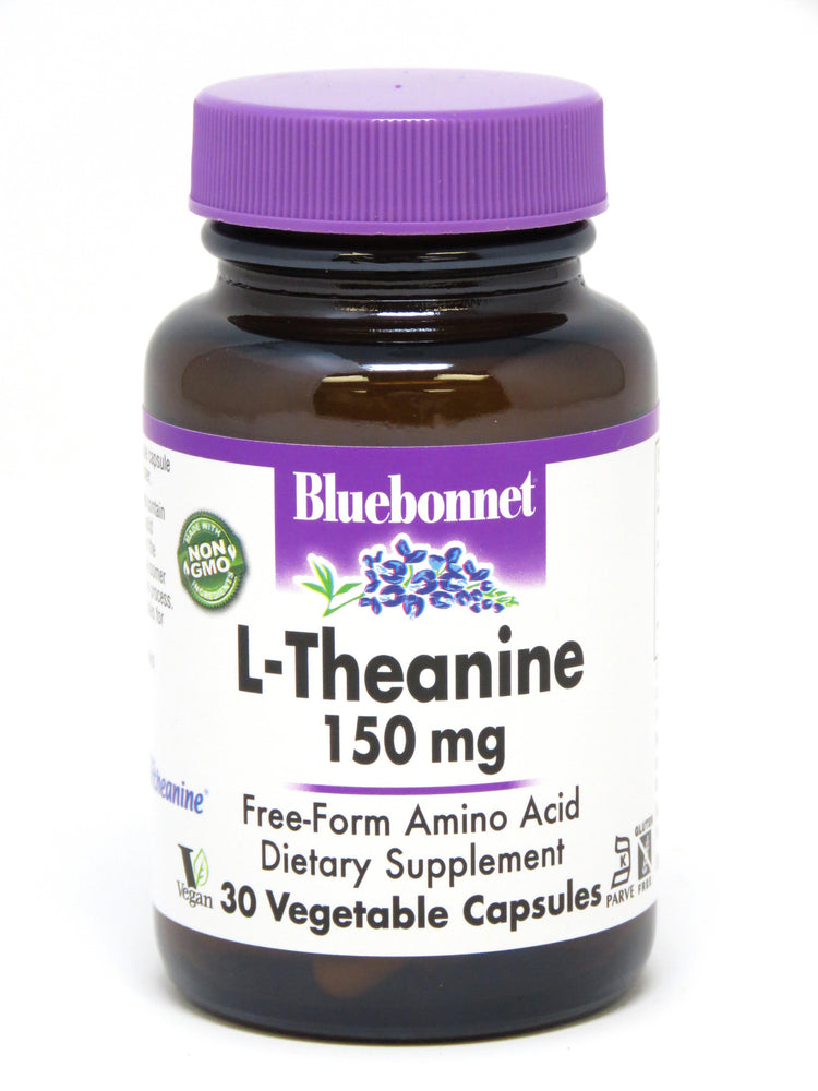 Blue Bonnet- L-THEANINE 150 mg50 - Highland Health Foods