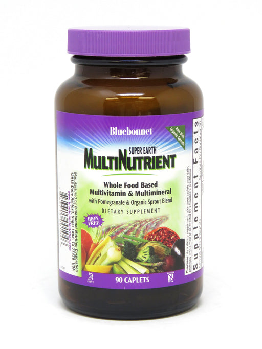Blue Bonnet- SUPER EARTH ® MULTINUTRIENT FOR90 - Highland Health Foods