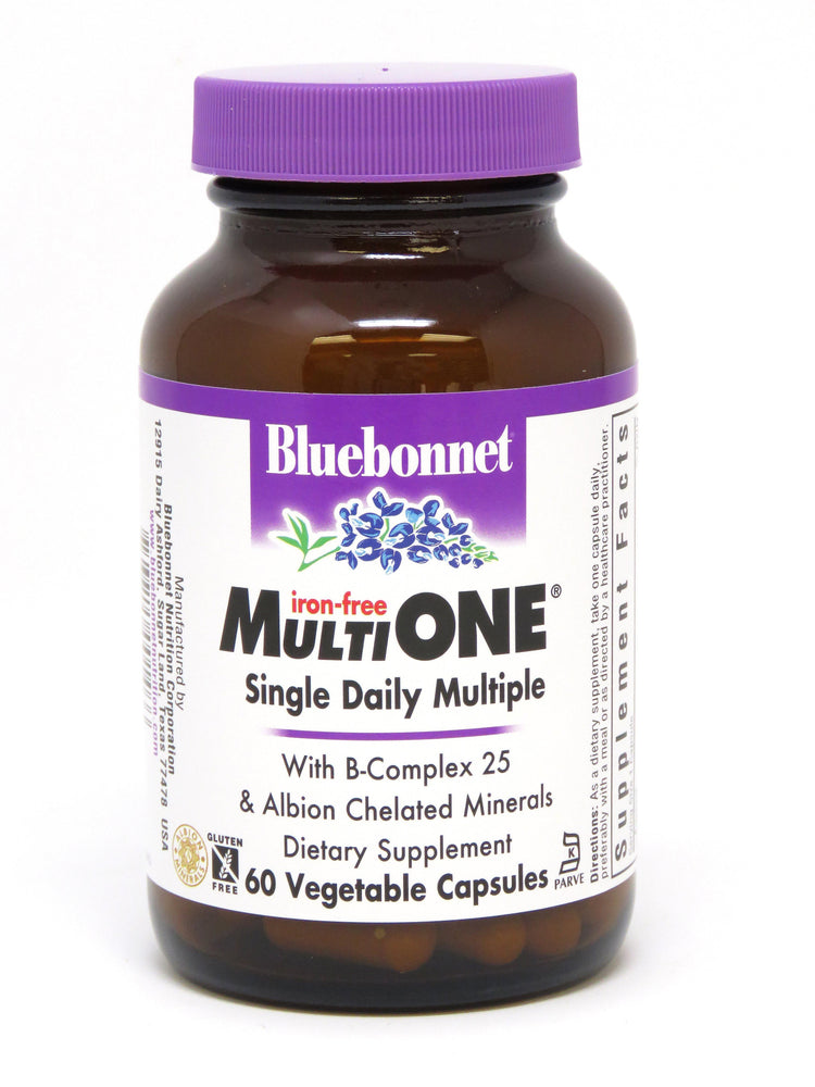 Blue Bonnet- MULTI ONE® (Iron Free)60 - Highland Health Foods