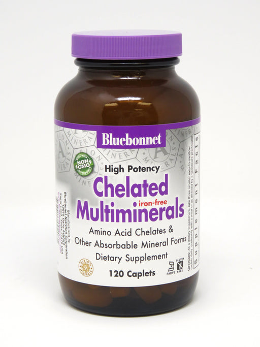 Blue Bonnet- ALBION CHELATED MULTI MINERALS120 - Highland Health Foods
