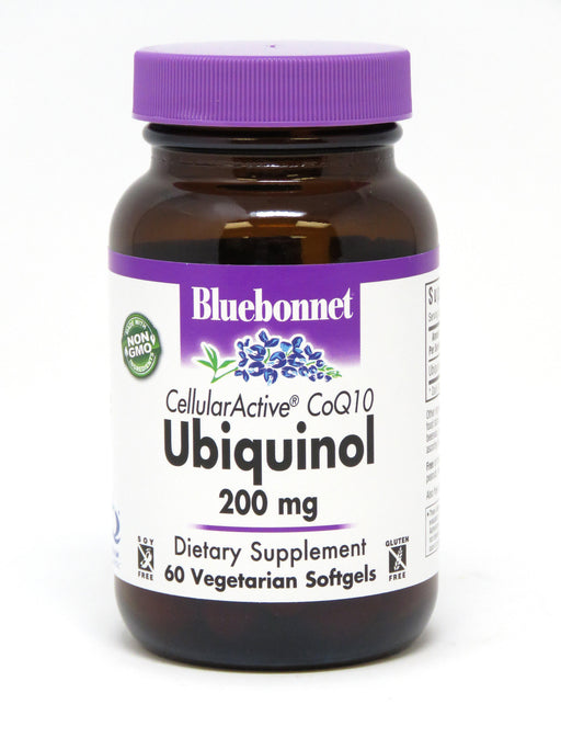 Blue Bonnet- CELLULAR ACTIVE® CoQ10 Ubiquinol 200 mg - 60 softgels