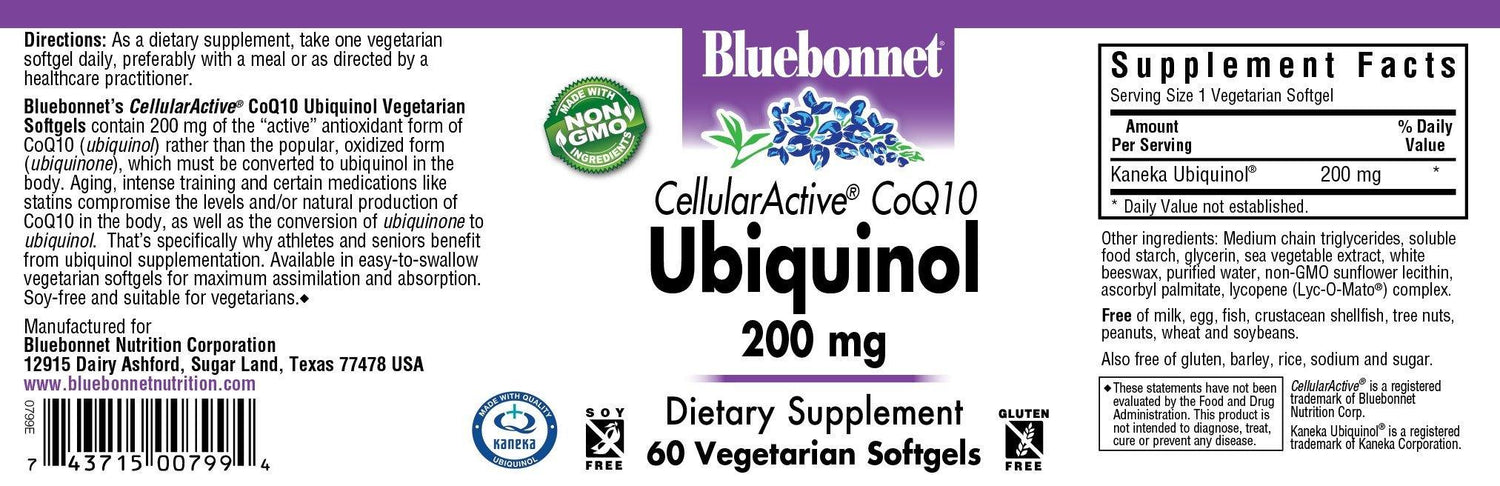 Blue Bonnet- CELLULAR ACTIVE® CoQ10 UBIQ 20060