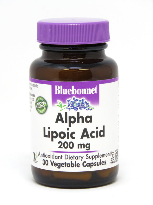 Blue Bonnet- ALPHA LIPOIC ACID 200 mg30