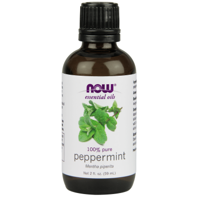 NOW FOODS - PEPPERMINT OIL  2 OZ