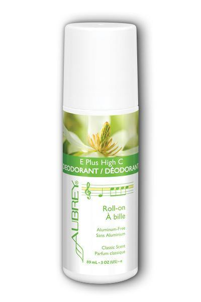Aubrey Organics  -E Plus High C Deodorant 3oz