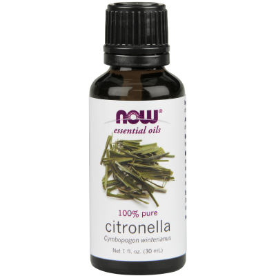 NOW FOODS - CITRONELLA OIL  1 OZ
