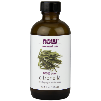 NOW FOODS - CITRONELLA OIL  4 OZ