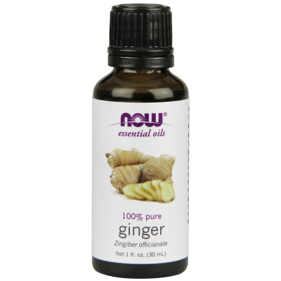 NOW FOODS - GINGER OIL  1 OZ