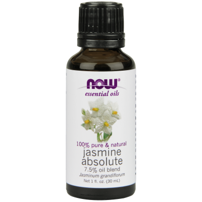 NOW FOODS - JASMINE ABSOLUTE OIL 7.5%  1 OZ