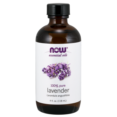 NOW FOODS - LAVENDER OIL  4 OZ