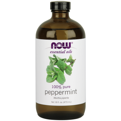 NOW FOODS - PEPPERMINT OIL  16 OZ