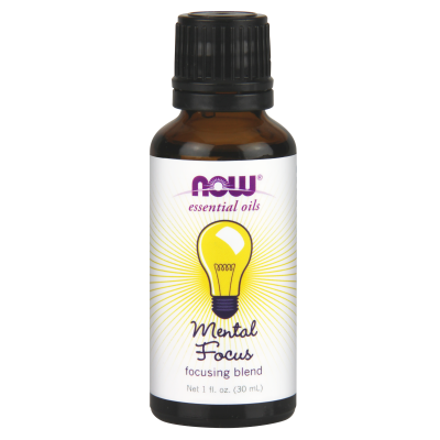 NOW FOODS - MENTAL FOCUS OIL BLEND 1 OZ
