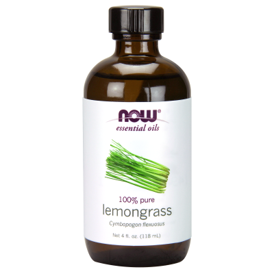 NOW FOODS - LEMONGRASS OIL 4 OZ