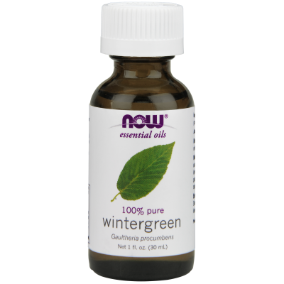 NOW FOODS - WINTERGREEN OIL  1 OZ