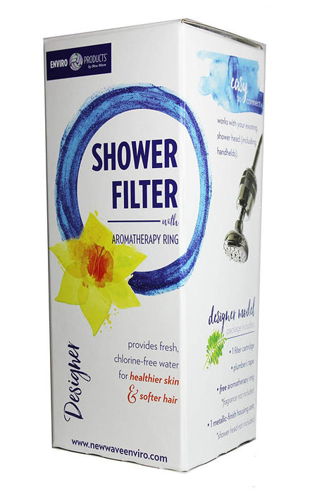 New Wave Enviro-Designer Shower Filter