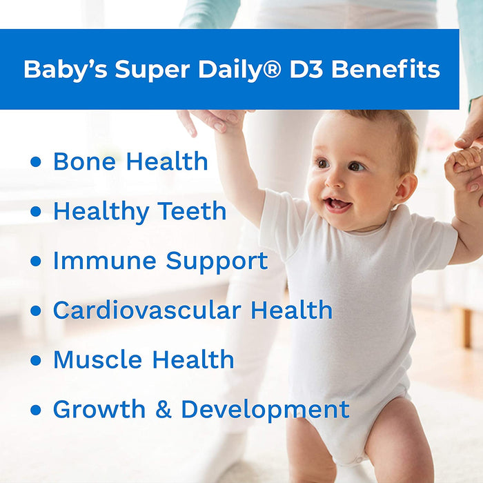 Carlson-Baby's Super Daily® D3 400 IU, 365 Drops