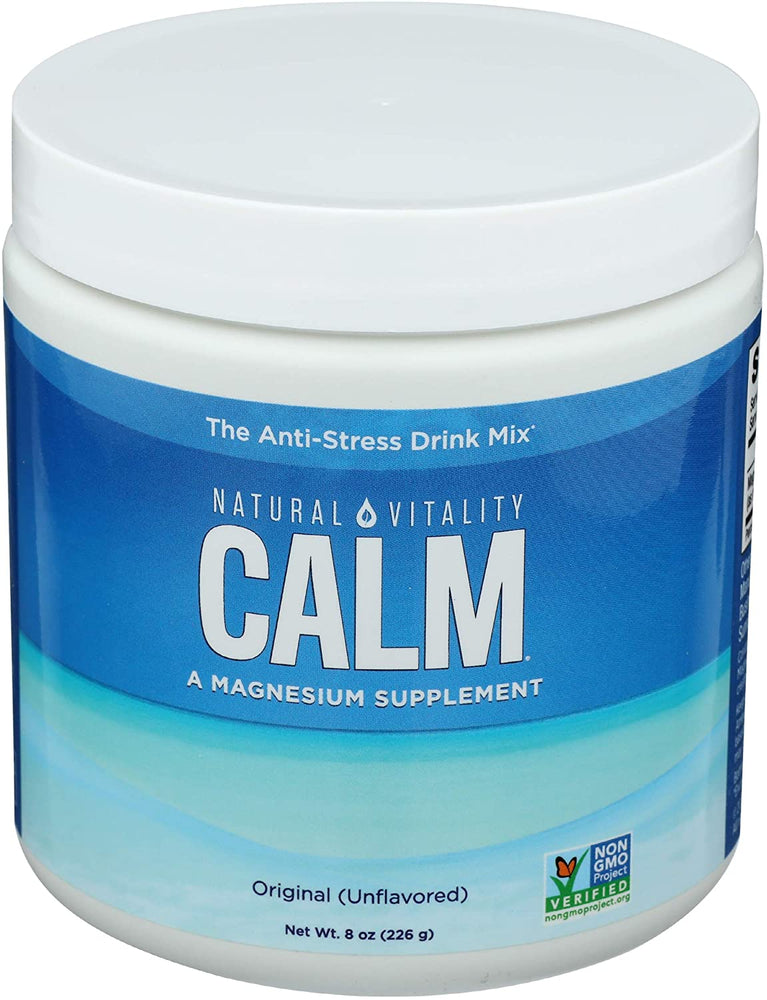 Natural Vitality - Calm Unflavored 8oz