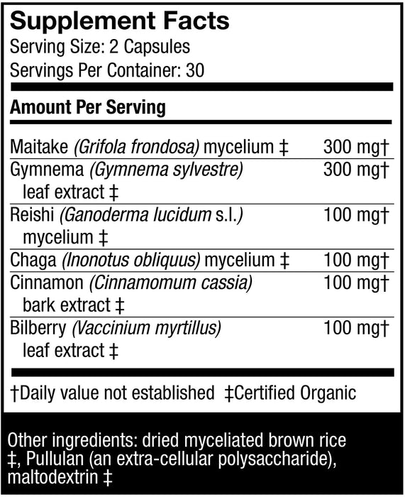 Host Defense-MycoBotanicals Blood Sugar