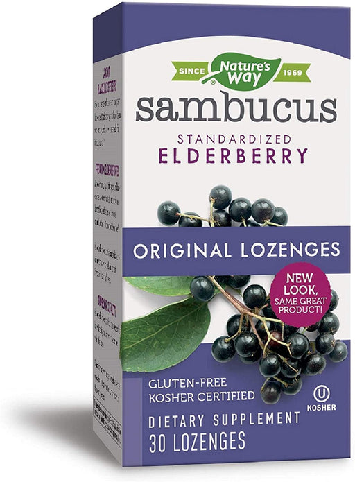 Nature's Way - Sambucus Original 30 Lozenge