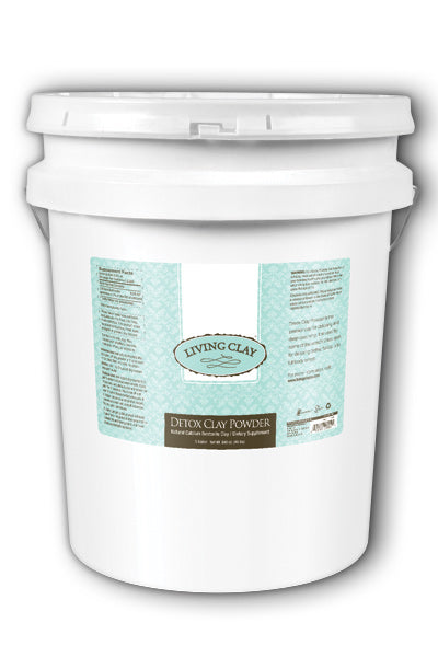 Living Clay  -Detox Clay Powder 5gal