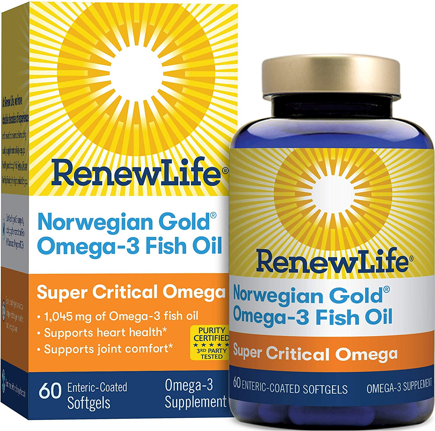 Renew Life - Norwegian Gold Super Critical Omega 60caps