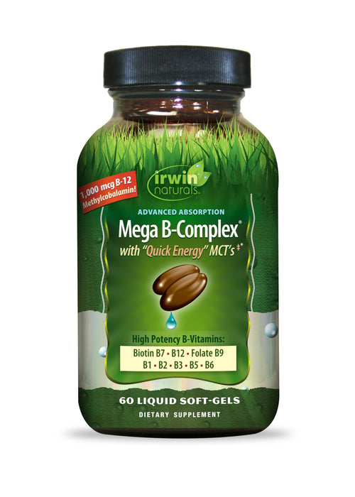 Irwin Naturals - Advanced Absorption Mega B-Complex